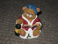 Christmas Bear Decoration - Mantel Decor - Ceramic Calgary