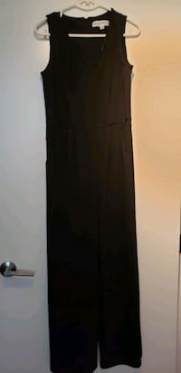 Black long jumpsuit, size 6  Burnaby, V5J 1K1