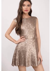 NEU golden sparkle dress Munich, 80539