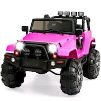 12v pink and black truck ride on toy,Rubber wheels Vaughan, L4J 9C2
