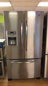 Stainless steel Maytag French Door Refrigerator