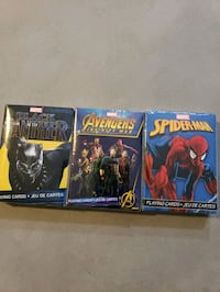 Marvel Playing Cards Lot