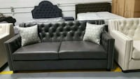 gray fabric 2-seat sofa Calgary, T3J 0C3