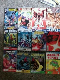 assorted Marvel comic book collection Le Claire, 52753