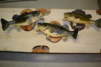 Largemouth Bass Mounts – 19 inch, 20 inch and 21 inch. Butler