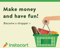Get Paid to Shop w/ Instacart + Earn Money Whenever You Feel Like It!