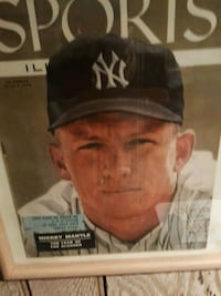 Mickey Mantle  - sports Illustrated magazine  Brooklyn, 11235