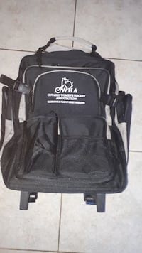 Travelling Back Pack on wheels, in GREAT condition MISSISSAUGA