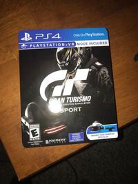 Gran Turismo PS4 game case