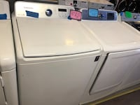 Samsung top load washer and dryer set in perfect condition