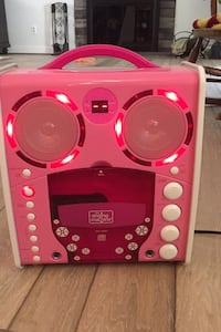 Pink Singing Machine/ CD player