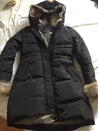 black zip-up parka jacket Blainville, J7C 1Y2