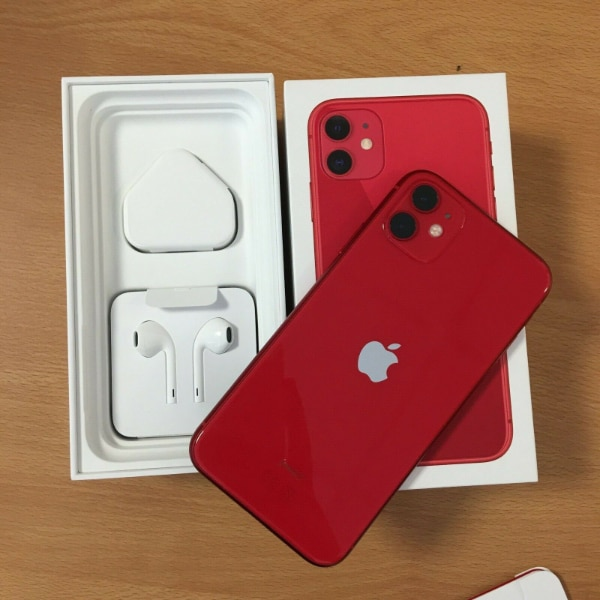 New Apple iPhone 11 (PRODUCT)RED c6ffb8e7-bedc-4a13-95f8-99421ef99a1e