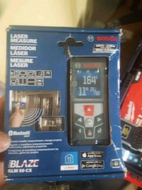 Bosch laser measure 165 foot 1 and 1/4 inch Vancouver, V5L 1X3