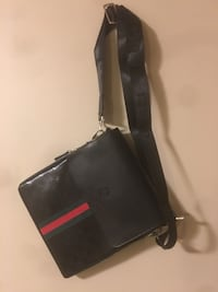 black, red, and green Gucci leather sling bag Kitchener, N2E 4H4