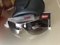 black framed Ray-Ban wayfarer sunglasses with case Airdrie, T4B 3R9