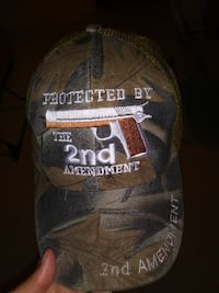 brown and white Protected by 2nd Amendment embroid Martinsburg, 25401