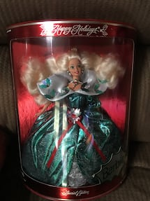 1995 Holiday Barbie NRFB