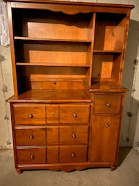 Dresser - Changing Table/Bookcase