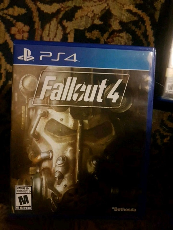 Fallout 4 PS4 game case