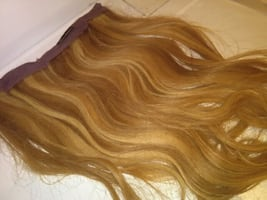 REAL HUMAN HAIR EXTENSIONS REMY
