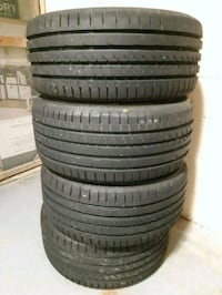 Brand new set of Goodyear summer tires!