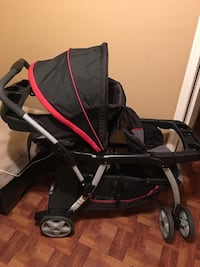 Baby's black and red stroller Silver Spring, 20902