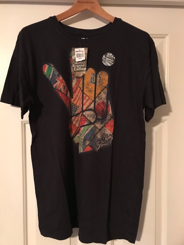 456055f1c35d Used BILLABONG MEN S T-SHIRT SIZE LARGE NEW WITH TAG for sale in Deerfield  Beach