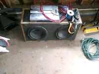 Subwoofer an amp an head unit  Cochranton, 16314