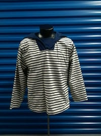 white and black stripe long-sleeved shirt Hyattsville, 20781