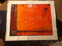 Painting on canvas by Dupré called Juicy Costa Mesa, 92627