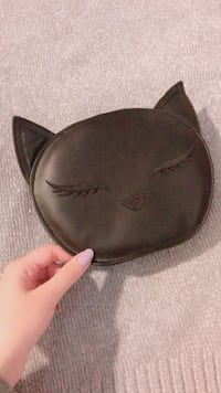 Black cat crossbody handbag  1957 km