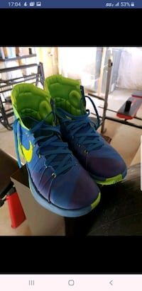 "Nike Hyperdunks 2015 All Star ""Sprite""Shoes blue n Locust Grove, 22508"
