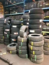 All kind of winter tire and installation used and  Toronto, M3J 2B9