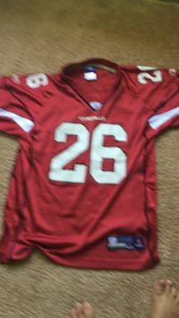 red and white NFL jersey Sykesville, 21784