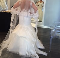 2016 pronovias - beautiful wedding dress in pristine condition Washington, 20018