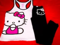 Hello Kitty Outfit, Leggings & Tank Top Las Vegas, 89101