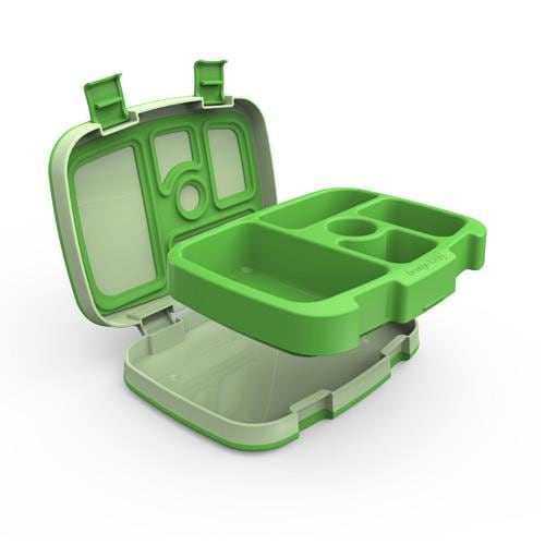 Bentgo Kids Children's Green Bento Lunch Box With Box