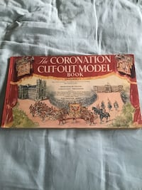 The Coronation cut out model book 1953