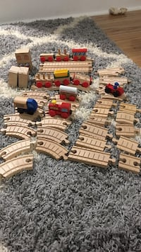 Brio train and rails wooden toy set Meridian, 48864