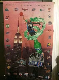 Old school sprite / NBA jam session hanging poster Poughkeepsie, 12601