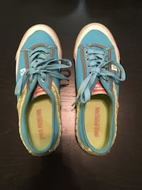 Green & Blue Sneakers Size 8 Olathe, 66062