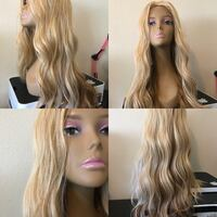 women's blonde hair Fullerton, 92835
