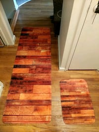 Wood Design Rug/Runner