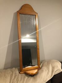 Brown wooden framed mirror Barrie, L4M 7A6