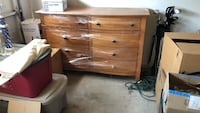 brown wooden 3-drawer chest Southlake, 76092