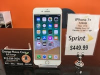 Sprint / Boost iphone 7+ 128gb Temple Terrace, 33617