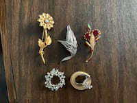 Brooches All For $10.00 Essa