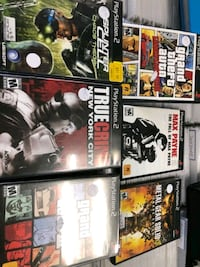Playstation 2 video games $8+up