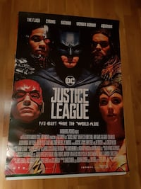 DC Justice League plakat Lier, 3420